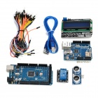 Funduino KT0051 F2560 R3 + Ultrasonic Sensor + Relay + Expansion Board for Arduino - Multicolored