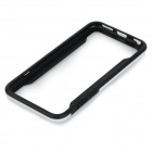 "Protective TPU Bumper Case Quadro para o iPhone 6 4.7 ""- Black + White"