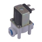 "ZnDiy-BRY 12V DC 1/4"" N/C Plastic Inlet Feed Water Solenoid Valve for Water Purifier / Dispenser"