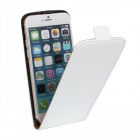 "Business Style Protective Top Flip-Open Case for IPHONE 6 4.7"" - White"