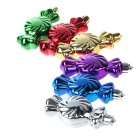Christmas Gold-plated Candy Pendants Decorations - Blue + Multi-Colored (6 PCS)