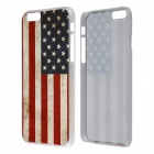 Retro Relif Style American US Flag Pattern Protective PC Back Case for IPHONE 6 4.7""