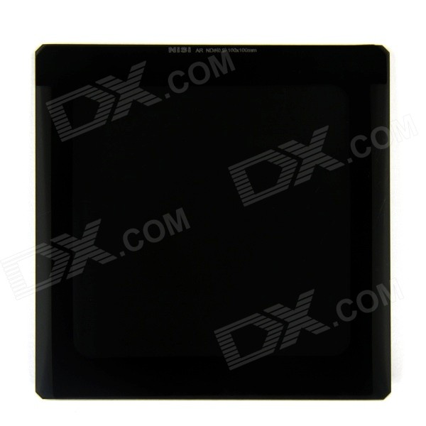 NISI AR ND8 Square Filter for Nikon / Canon / Sony / Pentax / Olympus - Black (100 x 100mm)