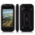 iMAN V12 Android 4.2 Quad Core Waterproof Dust-proof Shockproof 3G Smartphone w/ 4.5