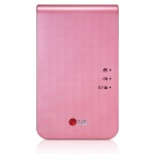 Genuine LG PoPo Pocket Photo 2 PD239 Mini Portable Mobile Photo Printer - Pink