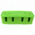 Power Cord Wire Centralized Storage Box - Green