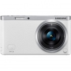 Genuine Samsung NX Mini Interchangeable Lens Digital Camera with 9mm Lens - White