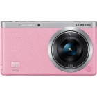 Samsung NX Mini Interchangeable Lens Digital Camera with 9mm Lens - Pink