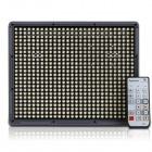Aputure Amaran HR672W 7300lm 5500 K LED Video Light m / fjernkontroll - grå (EU Plug)