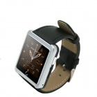 "U10 1.54"" LCD Bluetooth V3.0 Smart Wristwatch w/ Pedometer / Stopwatch / Voice Call - Silver + Black"
