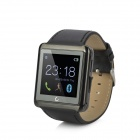 "U10L 1.54"" LCD Bluetooth V4.0 Smart Wrist Watch w/ Pedometer / Stopwatch / Voice Call - Black"