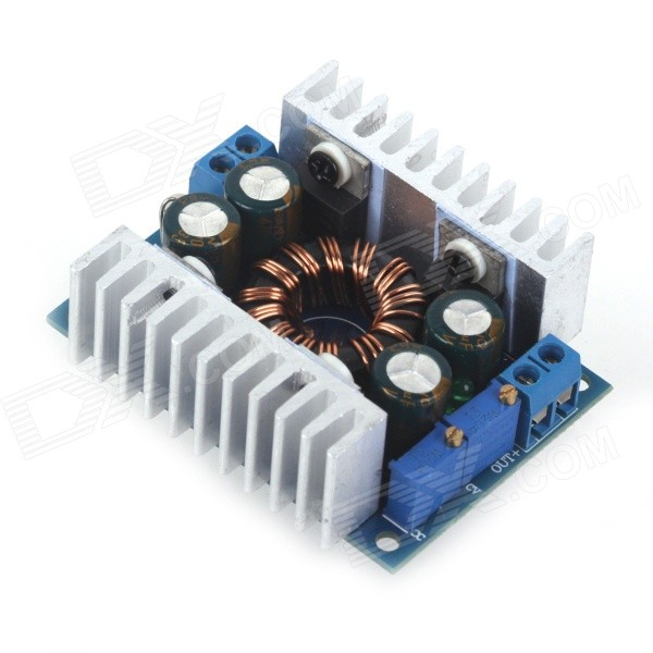 ZnDiy-BRY ZB-8 DC-DC 8A Adjustable Buck-boost CC/CV Power Supply Module - Blue + Silver