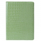 Mr.northjoe 360' Rotating Protective PU Leather Case w/ Stand + Auto Sleep for IPAD AIR 2 - Green