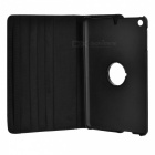 360 Degree Rotating Flip Case Cover Swivel Stand for IPAD MINI 3 - Black