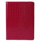 Mr.northjoe 360' Rotating Protective PU Leather Case w/ Stand + Auto Sleep for IPAD AIR 2 - Red