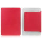 Mr.northjoe Protective PU Leather + PC Case Cover w/ Stand + Auto Sleep for IPAD AIR 2 - Red