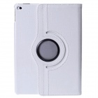 Mr.northjoe 360' Rotating Protective PU Leather Case w/ Stand + Auto Sleep for IPAD AIR 2 - White