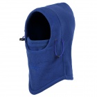 OUTFLY B11143 Windproof Polar Fleece Hood Neck Warmer Hat - Blue