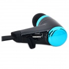HV805 Sports Wireless Bluetooth V4.0 In-ear Earphone w/ Microphone - Black + Blue