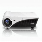 Zeco Quad-Core DLP HD Mini Home echte 3D Projector w / HDMI / USB / VGA - wit