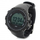 GD-003 Multi-Function Outdoor Digital Sport Watch w/ Pedometer / GPS / Compass / Backlight - Black