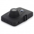 "C-07 2,4 ""TFT HD 120 'Wide-Angle CMOS IR Night Vision Car DVR Recorder Camcorder w / 1 LED - Zwart"