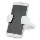 Universal OK Desktop TPU Stand Mount Holder for Smart Phone / Tablet PC - White