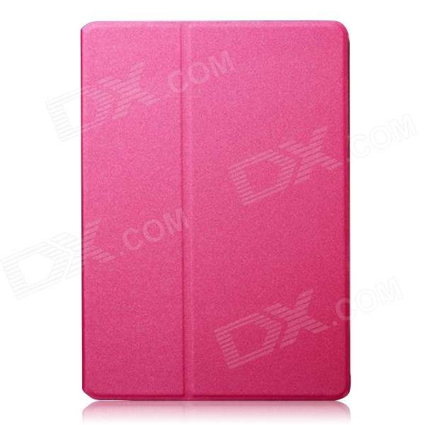 Mr.northjoe Protective PU Leather Case w/ Stand + Auto Sleep for IPAD AIR 2 - Deep Pink чехол deppa art case и защитная пленка для samsung galaxy s6 патриот крым ваш