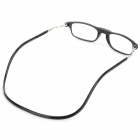 OULAIOU OL02 +1.00 Diopter Reading Presbyopic Glasses - Black