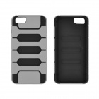"Angibabe 2-in-1 Protective TPU + PC Back Case for IPHONE 6 4.7"" - Gray + Black"