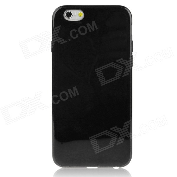 Hat-Prince Protective TPU Soft Back Case for IPHONE 6 4.7 - Black glossy jelly tpu gel case for iphone 6s 6 4 7 inch solid black