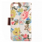 "Country Style Flower Cloth Pattern Protective Full Body Case for IPHONE 6 4.7"" / 6S - White + Pink"
