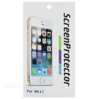 Clear PET Screen Protector w/ Cleaning Cloth for IPHONE6 - Transparent