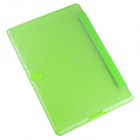 Hat-prince Protective 3-Fold Ultra-thin Case w/Holder for Samsung Galaxy Tab S 10.5 T800 - Green