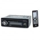 "2"" LCD Car DVD AUX Multimedia Player w/ SD Card Slot / FM / Remote Controller - Black + Grey"