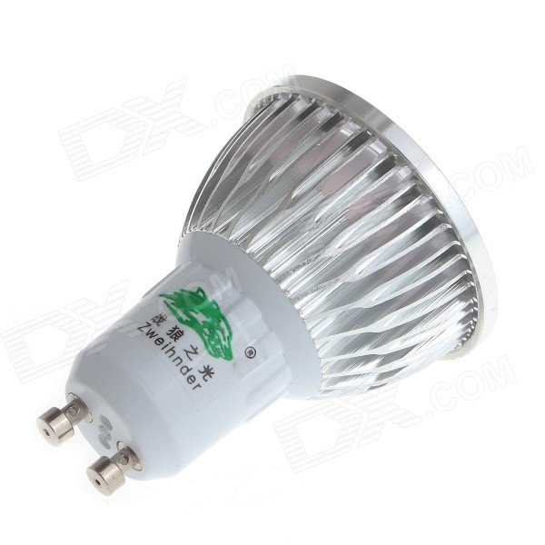 Zweihnder GU10 5W 480lm 3500K COB LED Warm White Light Spotlight (85~265V)