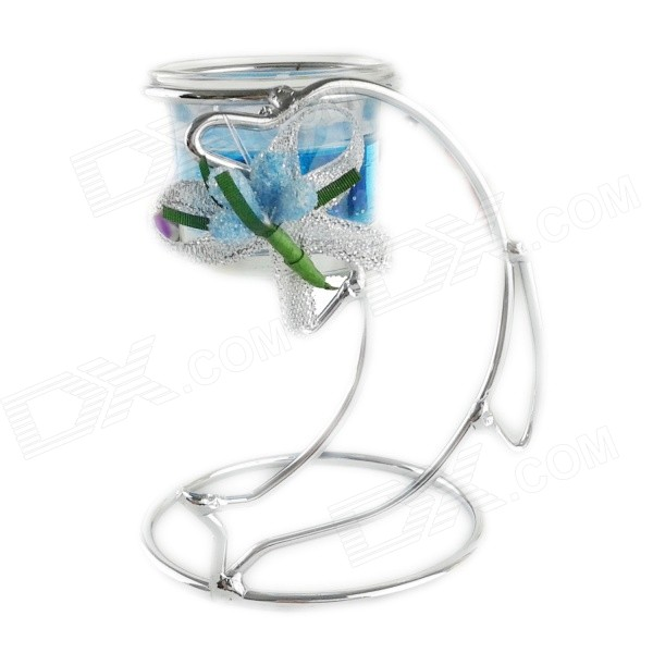FEIS ZT025 Fashionable Dolphin Style Candlestick - Blue