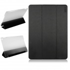 ENKAY ENK-3504 Ultra-thin Protective PU Case w/ 3-Fold Stand / Auto Sleep for IPAD AIR 2 - Black