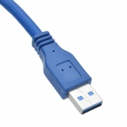 CHEERLINK universal USB 3.0 AM a BM Cable - Blue (60 cm)