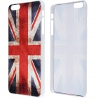 "Retro UK Flag Pattern Protective PC Back Case for IPHONE 6 PLUS 5.5"" - Red + Blue"
