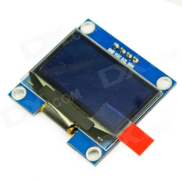 1.3 OLED White Display Module for Arduino - Deep Blue imported from microview oled module chip size module