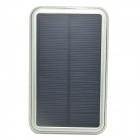 "ODEM J1.2 Solar Powered ""12000mAh"" External Battery Charger Power Source Bank for IPHONE - Silver"