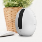 MOCREO Echoes Portable 5W Wireless Bluetooth Speaker w/ Touch Switch, Built-in Microphone - White