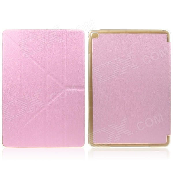 Mr.northjoe Protective PU Leather Case w/ Stand / Auto Sleep for IPAD AIR 2 - Pink