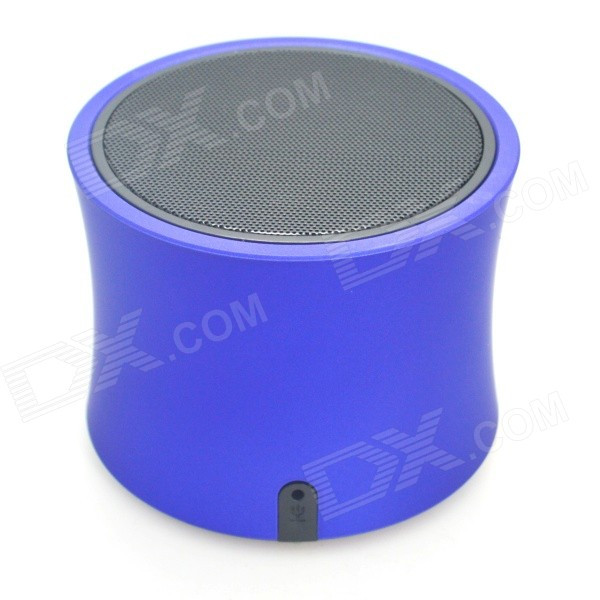 A3 Bluetooth V3.0 Handsfree Speaker w/ Microphone / Mini USB / TF - Blue + Black