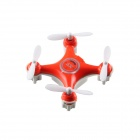 2.4GHz 4-Channel 6-Axis Indoor Mini UFO w/ Gyro / LED Light - Orange
