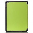 Mr.northjoe Protective PU Leather Case w/ Stand / Auto Sleep for IPAD AIR 2 - Green