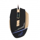 Sunsonny CCDY90C2 6-Tasten 600/1000 / 1600DPI USB Wired Professionelle Gaming Mouse - Schwarz