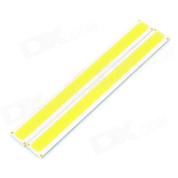 JRLED 7W 400lm 64-COB LED Bluish White Light Emitter Board (2 PCS/12V)