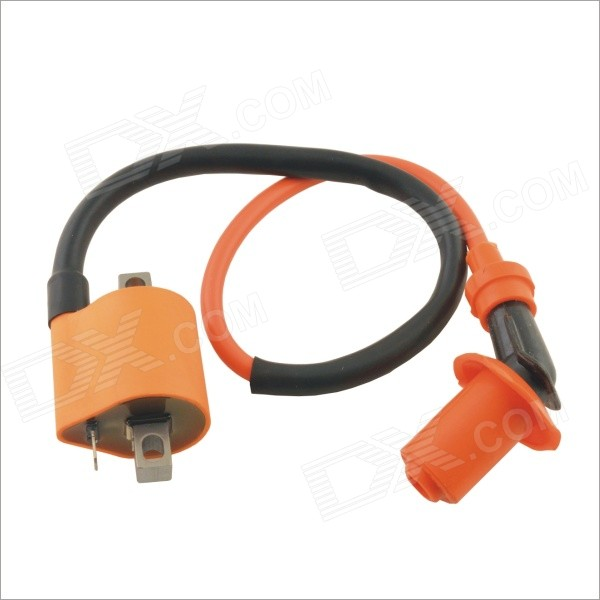Replacement Racing Ignition Coil for Yamaha - Orange relay cdi ignition ignition coil regulator for yamaha xv250 virago vstar 250
